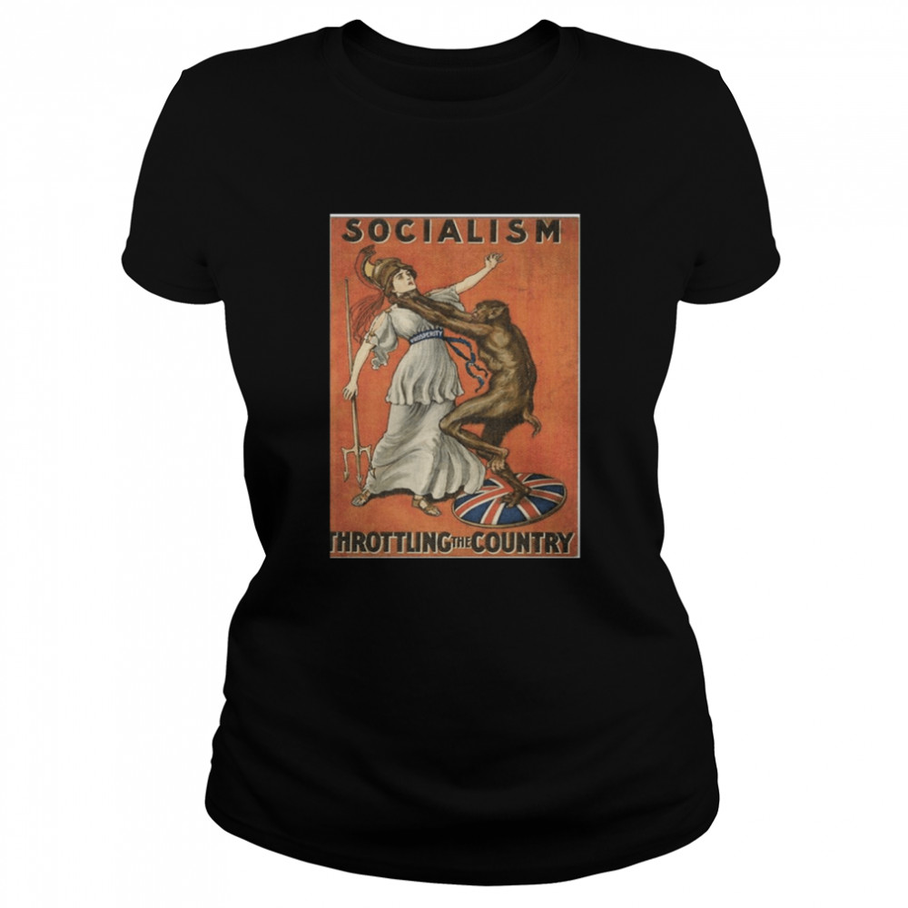 Socialism Throttling The Country  Classic Women's T-shirt