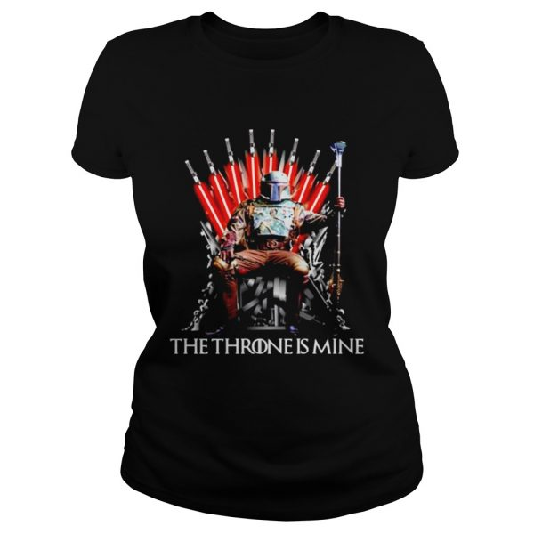 Star Wars Boba Fett the throne is mine Game of Thrones  Classic Ladies