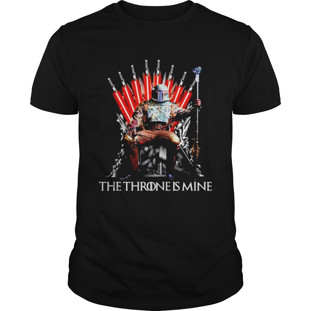 Star Wars Boba Fett the throne is mine Game of Thrones  Unisex
