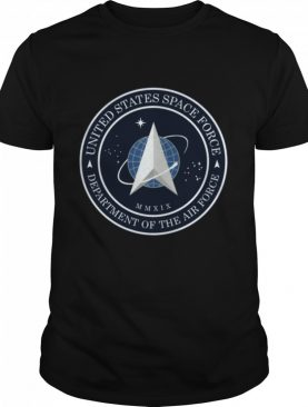 US SPACE FORCE USSF UNITED STATES SPACE FORCE LOGO EMBLEM shirt
