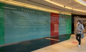 John Lewis considering fresh store closures in response to Covid