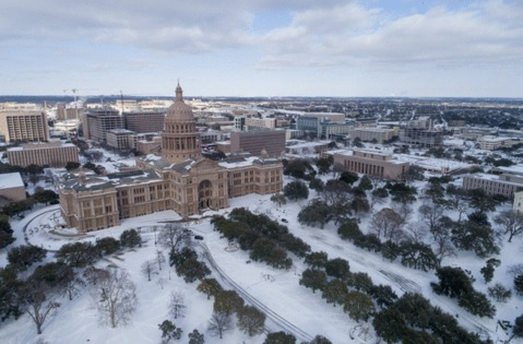 Texas Gov Greg Abbott Public Utility Commission hitting pause on non-payment disconnections