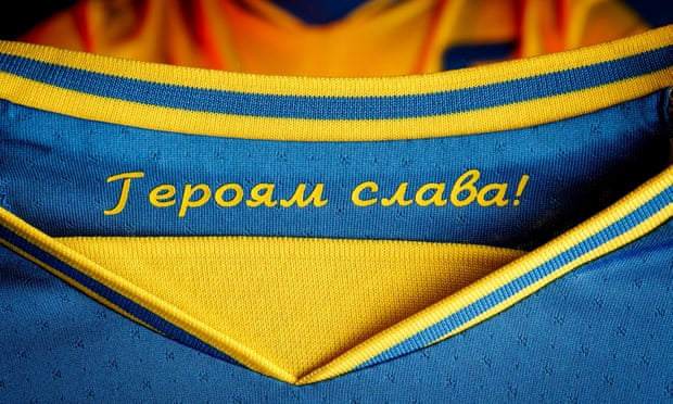 Ukraine in talks with Uefa to reverse Euro 2020 shirt decision