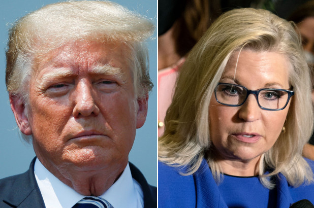 Trump set to meet with Liz Cheney's primary opponents