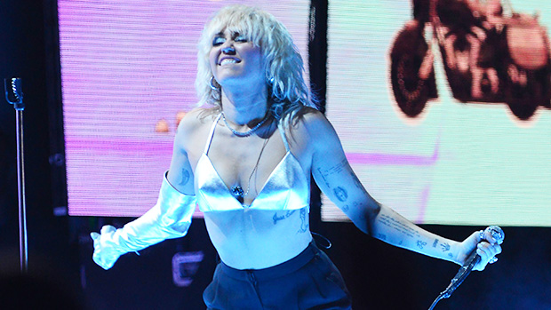 Miley Cyrus Shakes Her Hips In BacklessJumpsuit After Last Festival PerformanceOf 202